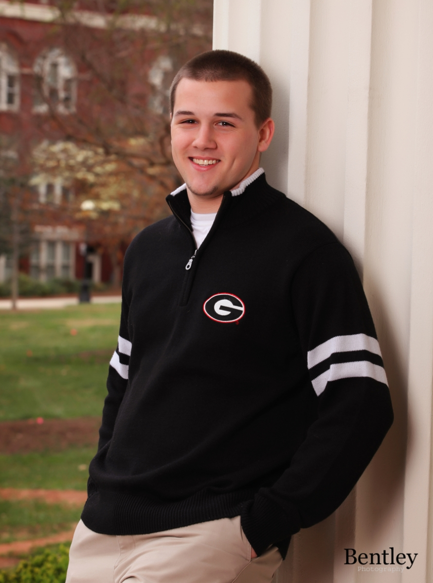 Senior Portrait in Athens, GA