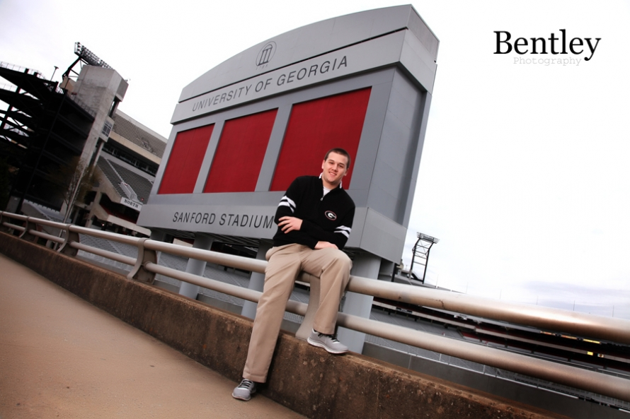 Senior Portrait in Athens