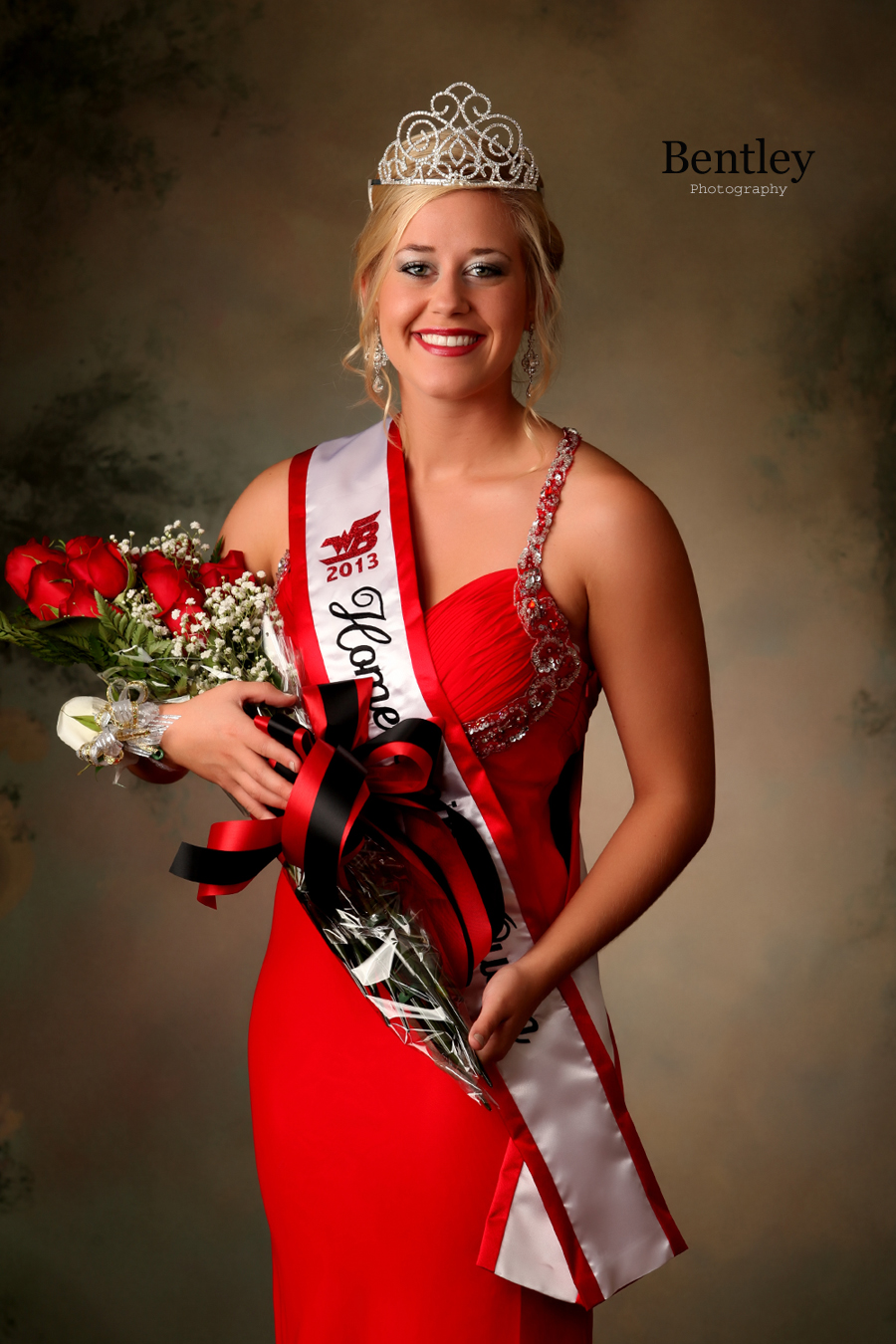 WBHS Homecoming Queen Whitney Senior Portrait Photography
