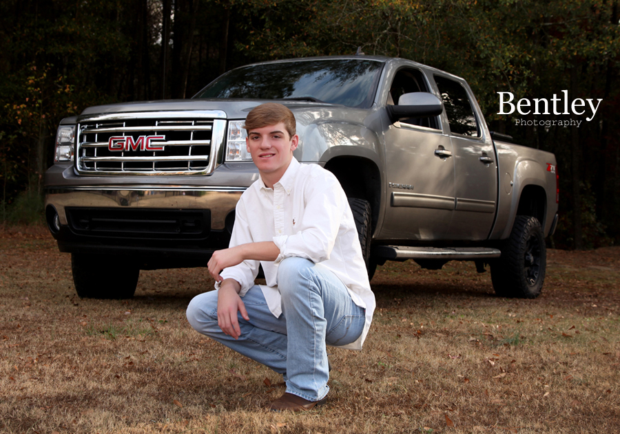 North Oconee Baseball Football And Trucks Sr Portraits Senior Portrait Photography