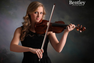 Peachtree Corners, senior photographer, violin